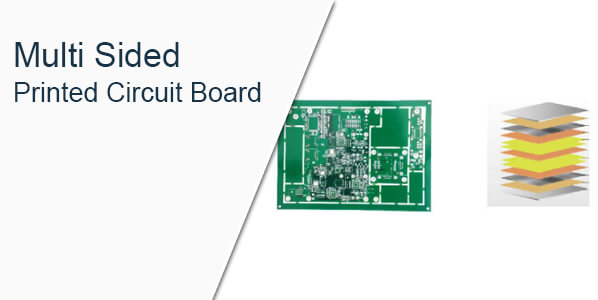 Multi sided printed circuit board